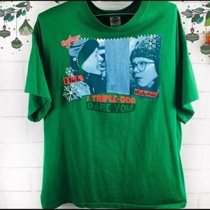 A Christmas Story Men's Tee XL